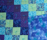 Homemade Baby Quilt #114