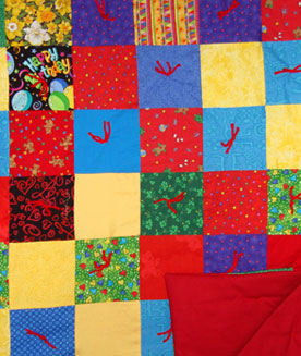 Homemade Baby Quilt #105